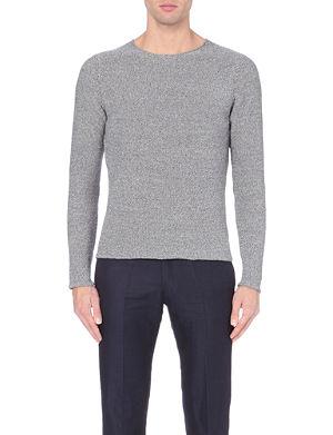 PAUL SMITH MAINLINE Waffle-knit cotton jumper