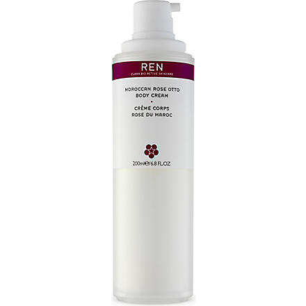 REN Moroccan Rose Otto body cream 200ml