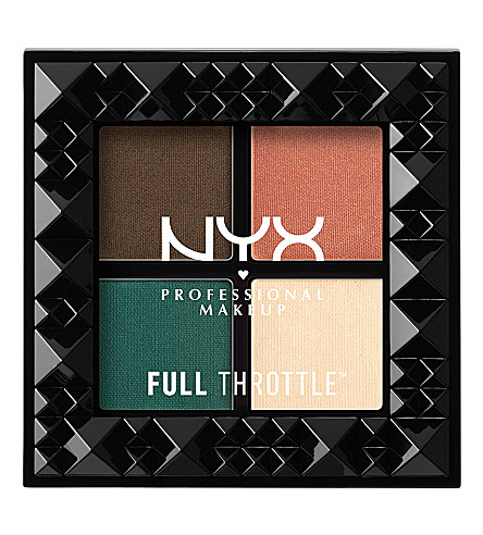 NYX PROFESSIONAL MAKEUP Full Throttle Shadow Palette (Explicit
