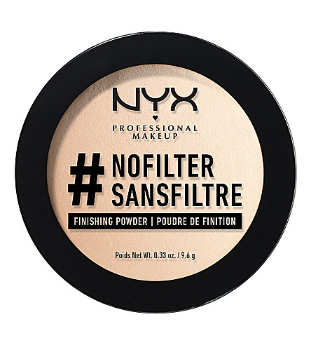 NYX PROFESSIONAL MAKEUP #NoFilter finishing powder (Alabaster