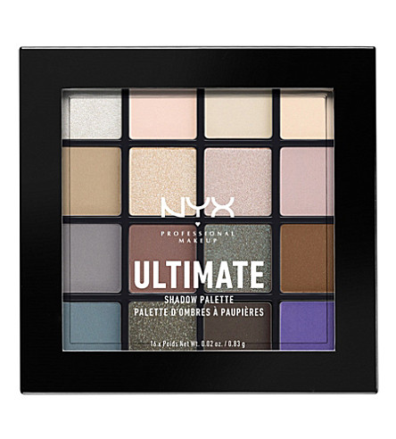 NYX PROFESSIONAL MAKEUP Ultimate Shadow Palette cool neutrals (Cool+neutrals