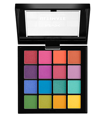 NYX PROFESSIONAL MAKEUP Ultimate Eyeshadow Palette Brights 13.2g (Brights