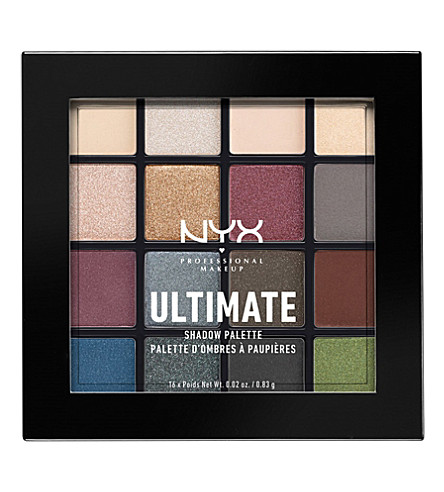 NYX PROFESSIONAL MAKEUP Ultimate shadow palette Smokey