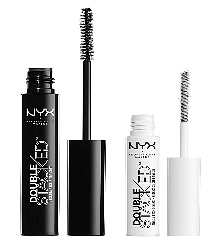 NYX PROFESSIONAL MAKEUP Double Stacked fibre mascara