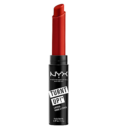 NYX PROFESSIONAL MAKEUP Turnt Up lipstick (Burlesque
