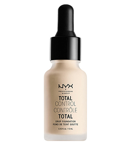 NYX PROFESSIONAL MAKEUP Total Control Drop Foundation 13ml (Pale