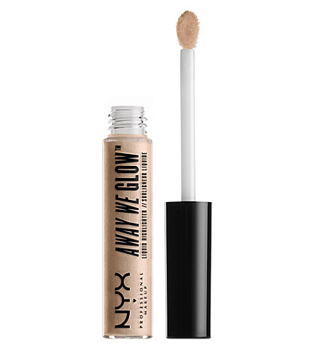 NYX PROFESSIONAL MAKEUP Away We Glow Liquid Highlighter (Crystal+glare