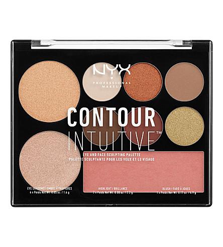 NYX PROFESSIONAL MAKEUP Contour Intuitive Palette (02