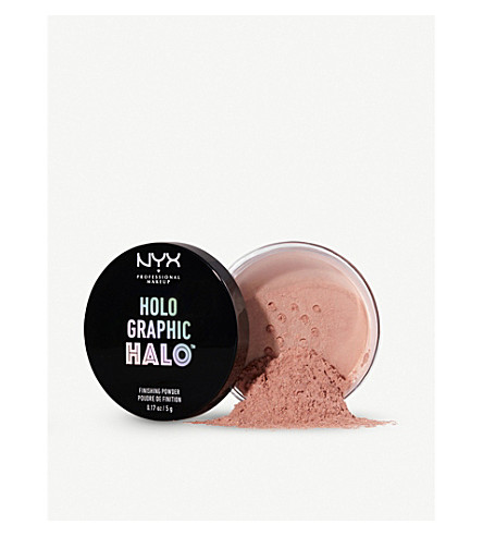 NYX PROFESSIONAL MAKEUP Holographic Halo Finishing Powder 5g (Magical