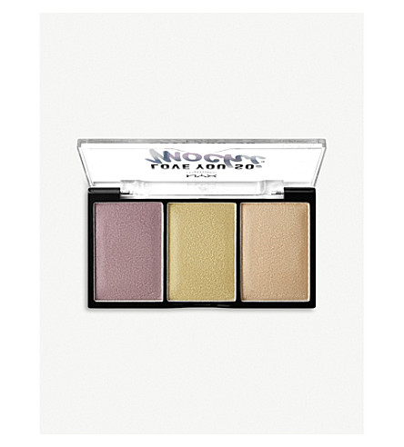 NYX PROFESSIONAL MAKEUP Love You So Mochi Highlighting Palette (Lit+life