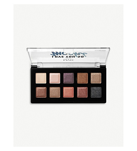 NYX PROFESSIONAL MAKEUP Love You So Mochi Sleek and Chic eyeshadow palette (Sleek+and+chick
