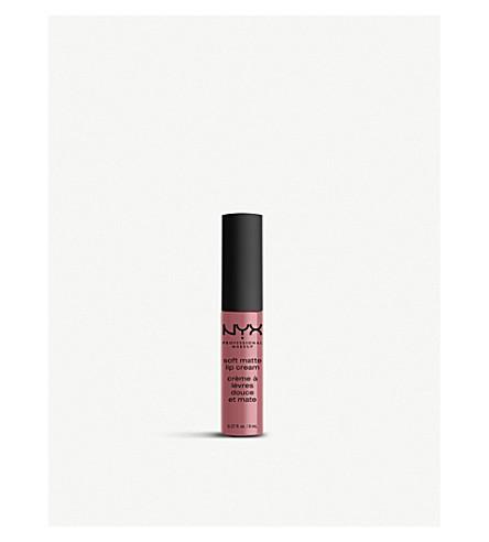 NYX PROFESSIONAL MAKEUP Soft Matte Lip Cream 8ml (Beijing