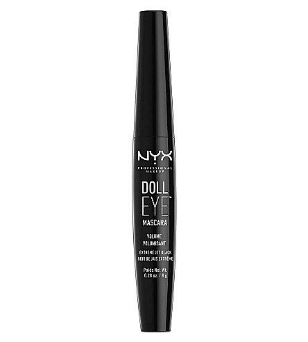 NYX PROFESSIONAL MAKEUP Doll Eye Mascara (Black