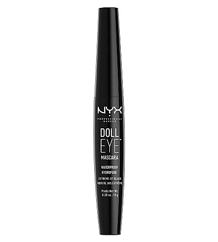 NYX PROFESSIONAL MAKEUP Doll Eye Waterproof Mascara (Black