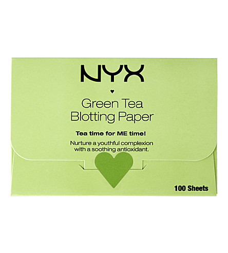 NYX PROFESSIONAL MAKEUP 绿茶印迹纸