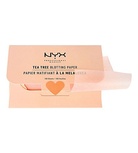 NYX PROFESSIONAL MAKEUP 茶叶树印迹纸
