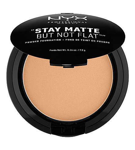 NYX PROFESSIONAL MAKEUP Stay Matte Not Flat Powder Foundation (Caramel