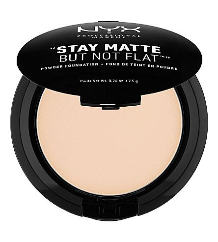 NYX COSMETICS Stay Matte Not Flat Powder Foundation (Ivory