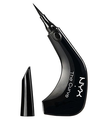 NYX PROFESSIONAL MAKEUP The curve liquid eyeliner (Jet black