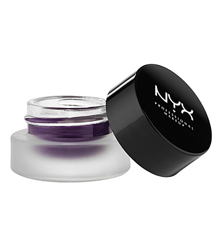 NYX PROFESSIONAL MAKEUP Gel Liner and Smudger (Deep+purple