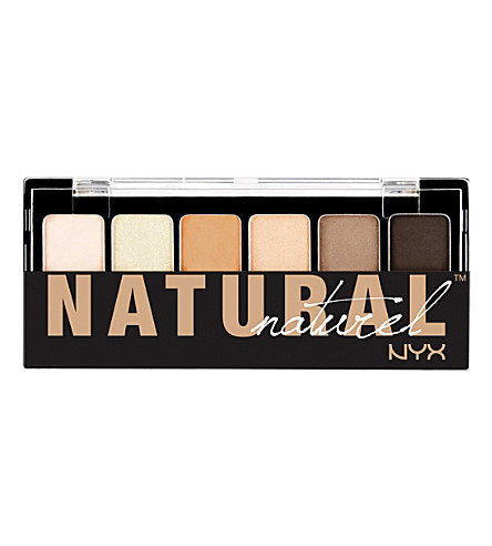 NYX COSMETICS The Natural Shadow Palette