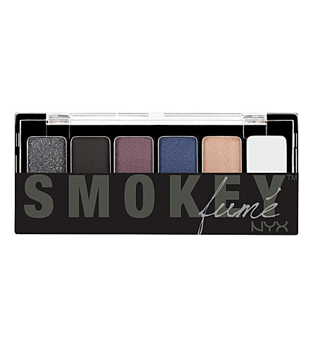 NYX PROFESSIONAL MAKEUP The Smokey Shadow Palette