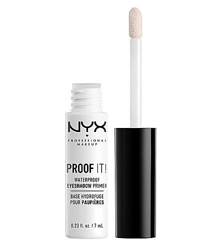 NYX PROFESSIONAL MAKEUP 证明它!防水眼影妆前乳