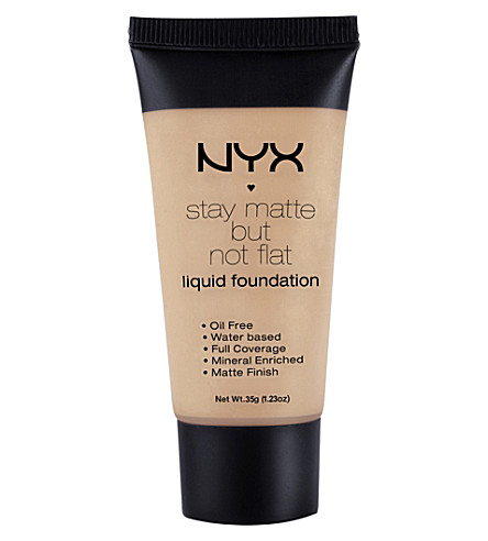 NYX PROFESSIONAL MAKEUP Stay matte but not flat liquid found sof (Caramel