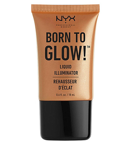 NYX PROFESSIONAL MAKEUP Born To Glow Liquid Illuminator (Pure+gold