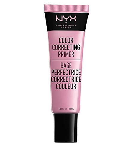 NYX PROFESSIONAL MAKEUP Colour Correcting Liquid Primer (Pink