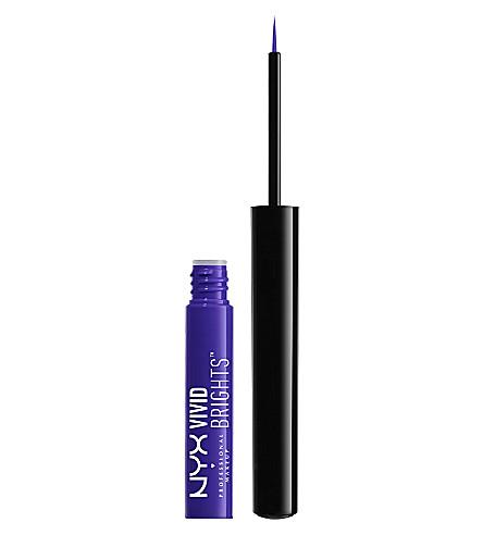 NYX PROFESSIONAL MAKEUP Vivid Brights Eyeliner (Violet