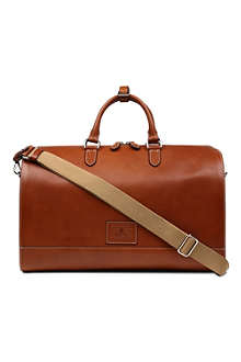 RALPH LAUREN ACCESSORIES Leather duffle bag