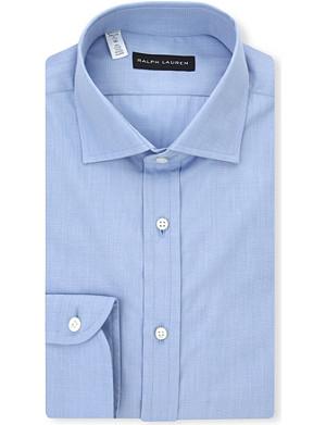 RALPH LAUREN BLACK LABEL Bond cotton shirt