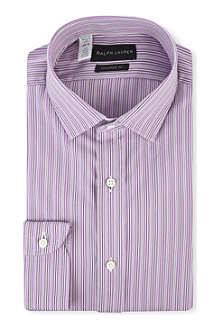 RALPH LAUREN BLACK LABEL Sloan tailored-fit single cuff shirt