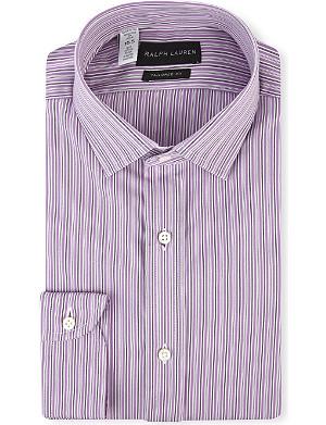 RALPH LAUREN BLACK LABEL Sloan tailored-fit single cuff shirt