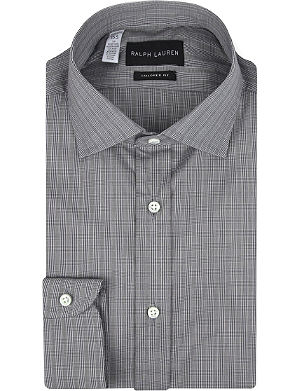 RALPH LAUREN BLACK LABEL Bond tailored cotton shirt