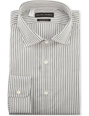 RALPH LAUREN BLACK LABEL Bond tailored-fit single-cuff shirt