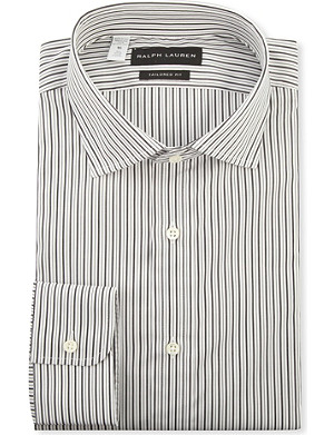 RALPH LAUREN BLACK LABEL Bond tailored-fit single-cuff shirt