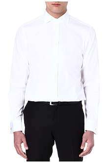RALPH LAUREN BLACK LABEL Spread-collar shirt