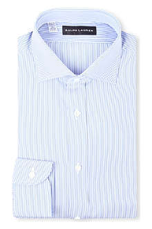 RALPH LAUREN BLACK LABEL Striped single-cuff shirt