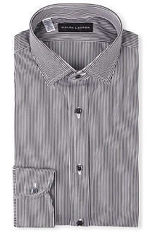 RALPH LAUREN BLACK LABEL Classic-fit spread-collar single-cuff shirt