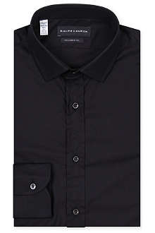 RALPH LAUREN BLACK LABEL Tailored cotton shirt