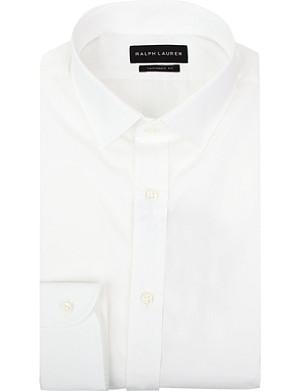 RALPH LAUREN BLACK LABEL Tailored cotton shirt