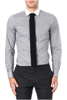 RALPH LAUREN BLACK LABEL White spread collar shirt