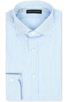 RALPH LAUREN BLACK LABEL Bold stripe single-cuff shirt