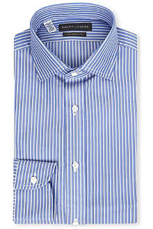 RALPH LAUREN BLACK LABEL Bold stripe tailored shirt