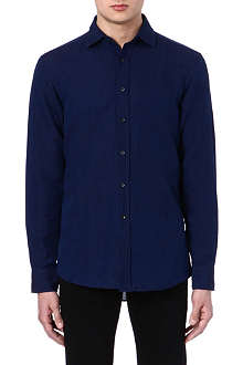 RALPH LAUREN BLACK LABEL Linen-blend shirt
