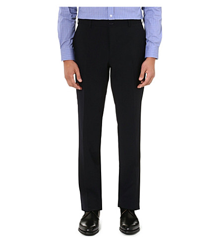 RALPH LAUREN BLACK LABEL Anthony wool trousers (Navy