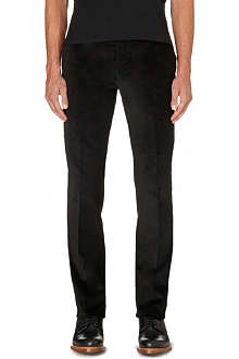 RALPH LAUREN BLACK LABEL Nigel regular-fit straight leg corduroy trousers