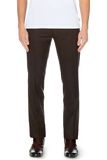 RALPH LAUREN BLACK LABEL Nigel slim-fit wool trousers